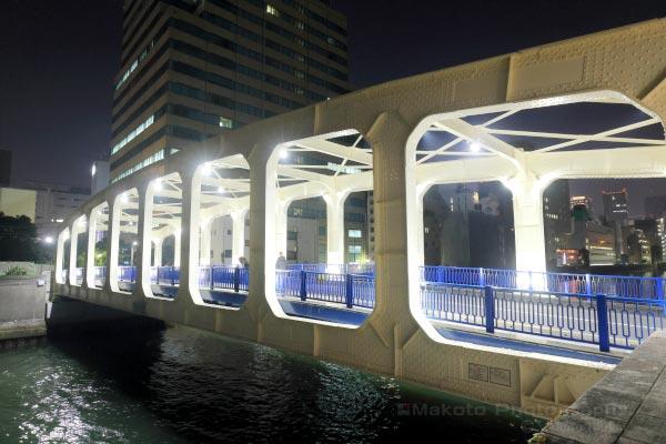 豊海橋の外観を望む