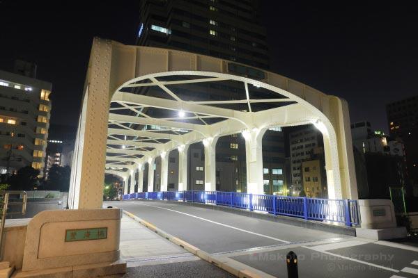豊海橋入口付近の雰囲気