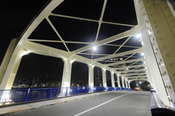 橋の入口から全体を望む