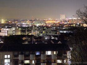 日野市の夜景スポット ふじみ公園