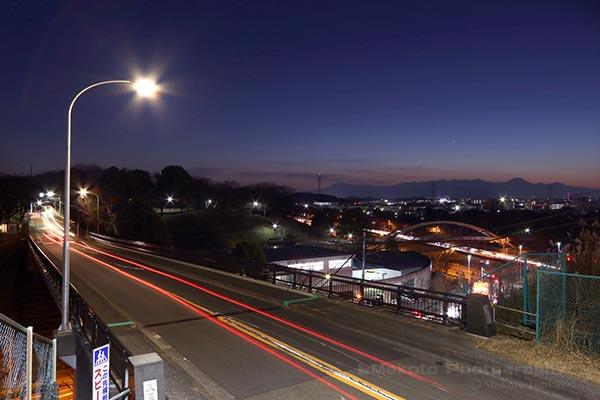 夜景スポット 天王橋の雰囲気