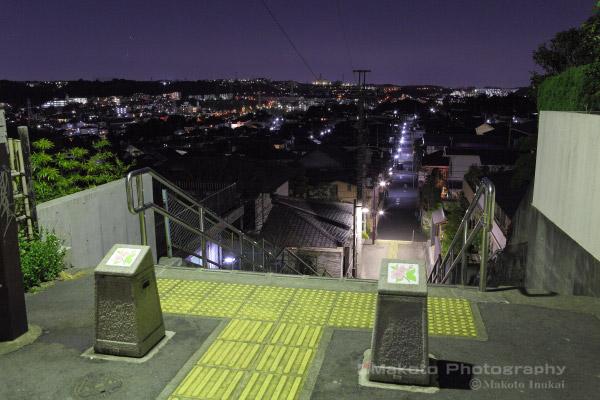 夜景スポット 桜ヶ丘1付近の雰囲気