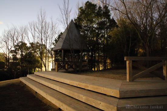 真光寺公園 展望エリアの雰囲気