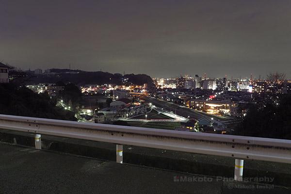 夜景スポット 桜ヶ丘4の雰囲気
