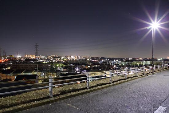 夜景スポット 平山3の雰囲気