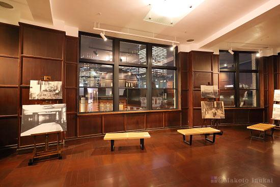 KITTE 旧東京中央郵便局長室 室内の雰囲気