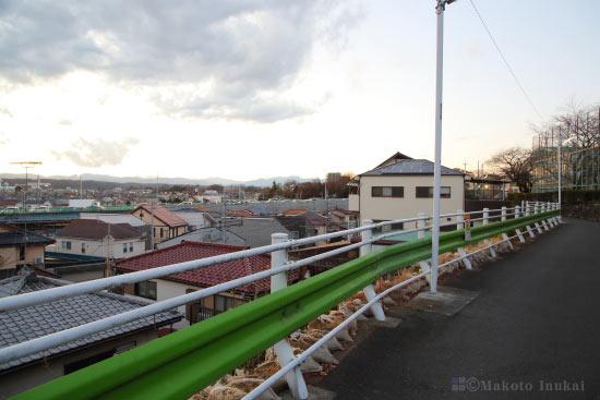 夜景スポット 玉川小学校前の雰囲気