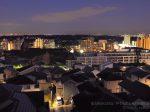 若葉台パークヒルズ・丘の手の住宅街(東)方向の夜景を望む