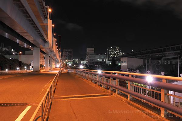 夜景スポット 浮島橋の雰囲気